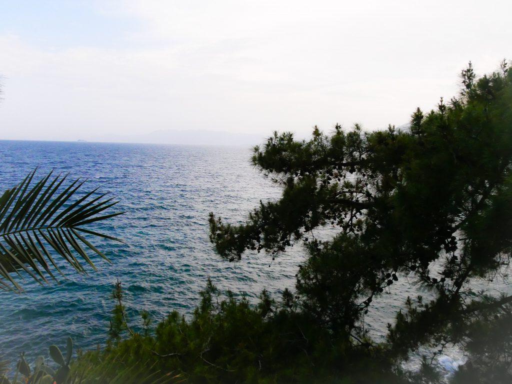 Nauplie vue sur la mer