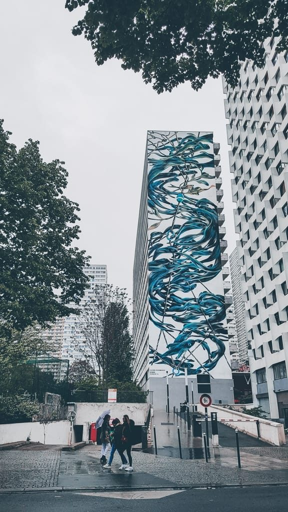 Street Art Paris 13 - Pantonio