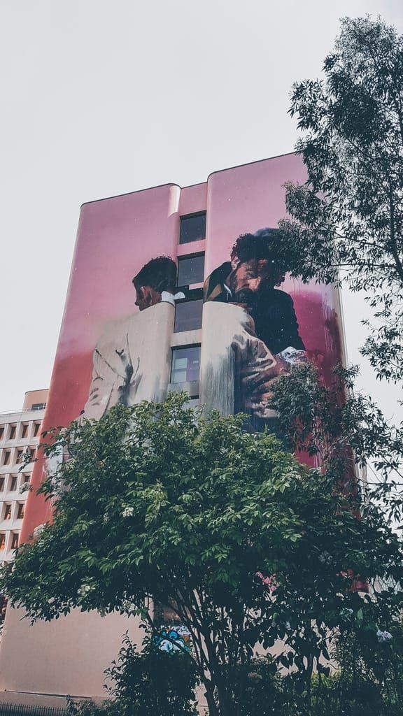 Street art Paris 13 - Conor Harrington