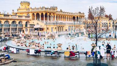 Budapest - Thermes Széchenyi