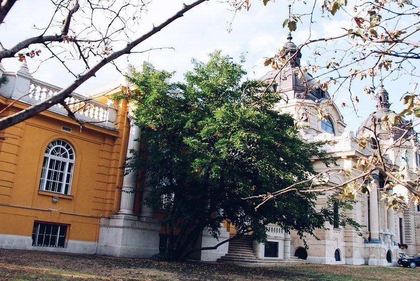Budapest - Thermes Széchenyi - extérieur