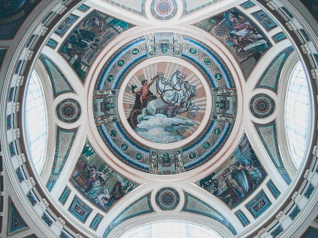 Budapest - Thermes Széchenyi - intérieur