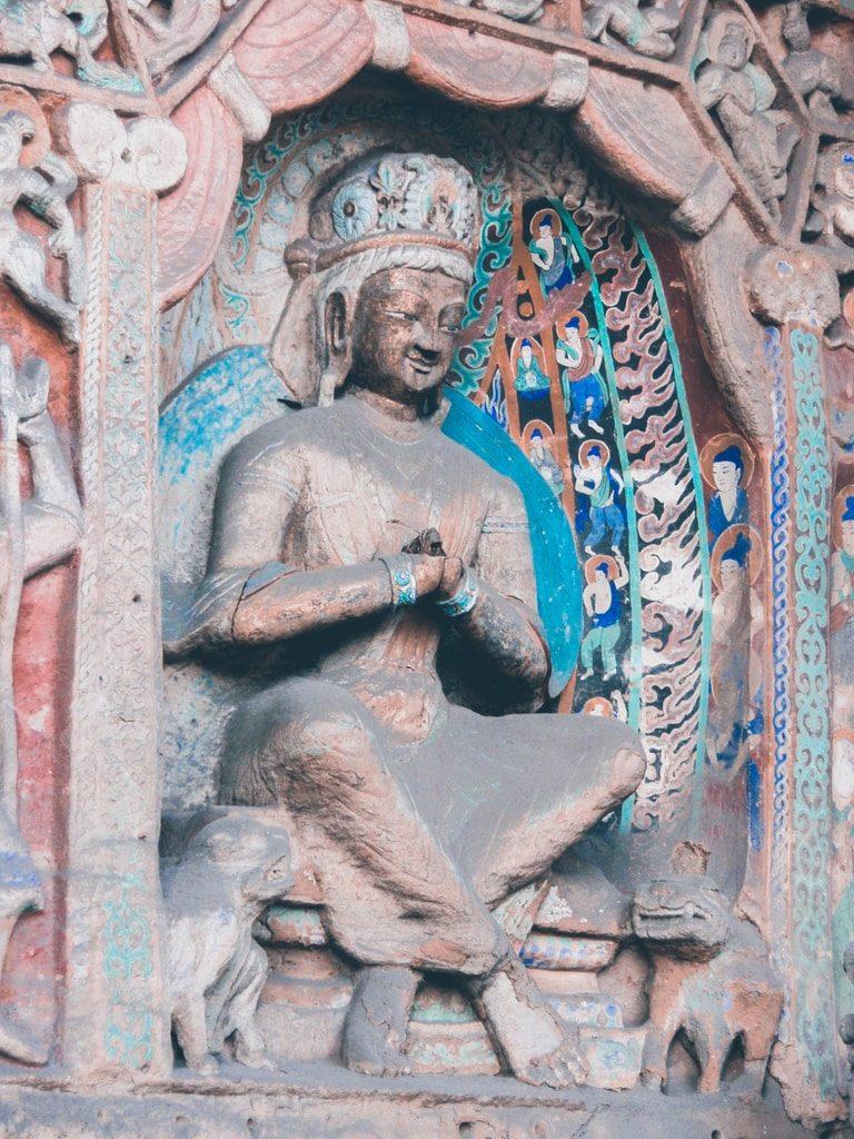 Datong - Chine - Grottes de Yungang