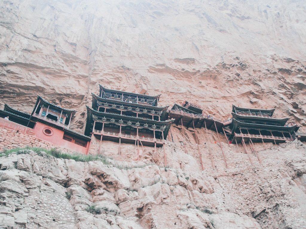 Datong - Chine - Monastère Xuankong Si