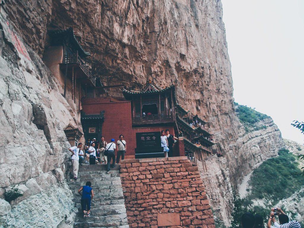 Datong - Chine - Monastère de Xuankong Si