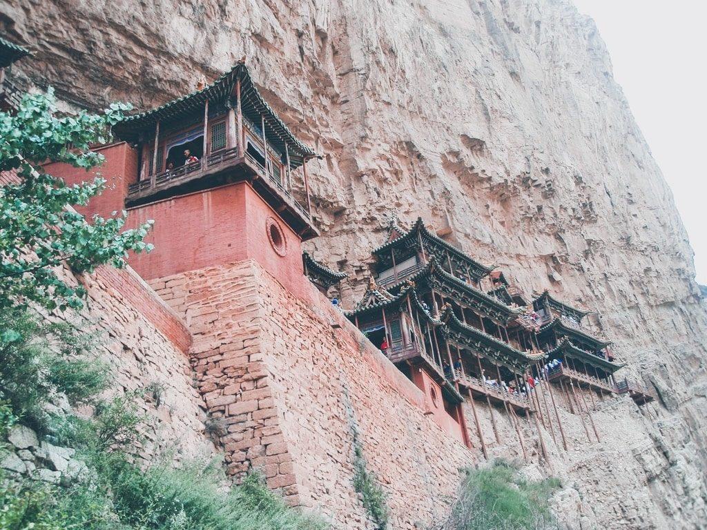 Datong - Chine - Monastère suspendu de Xuankong Si