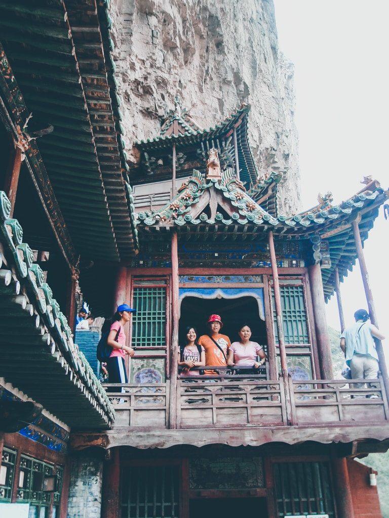 Datong - Chine - Temple suspendu de Xuankong Si