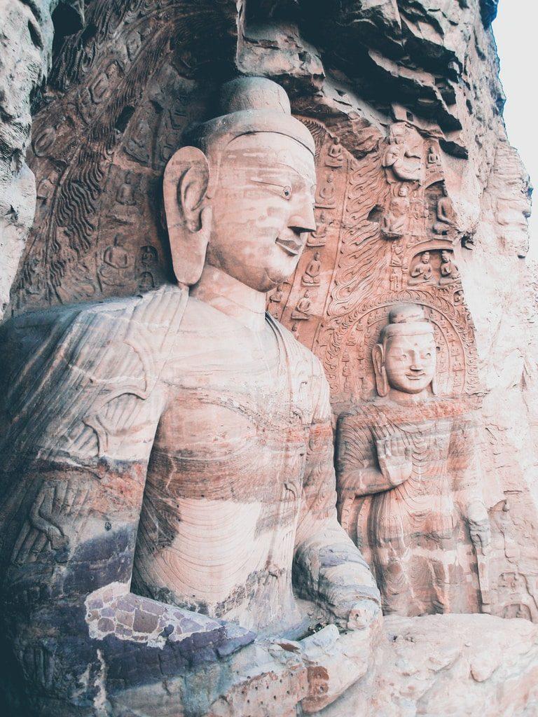 Grottes de de Yungang - Datong - Chine