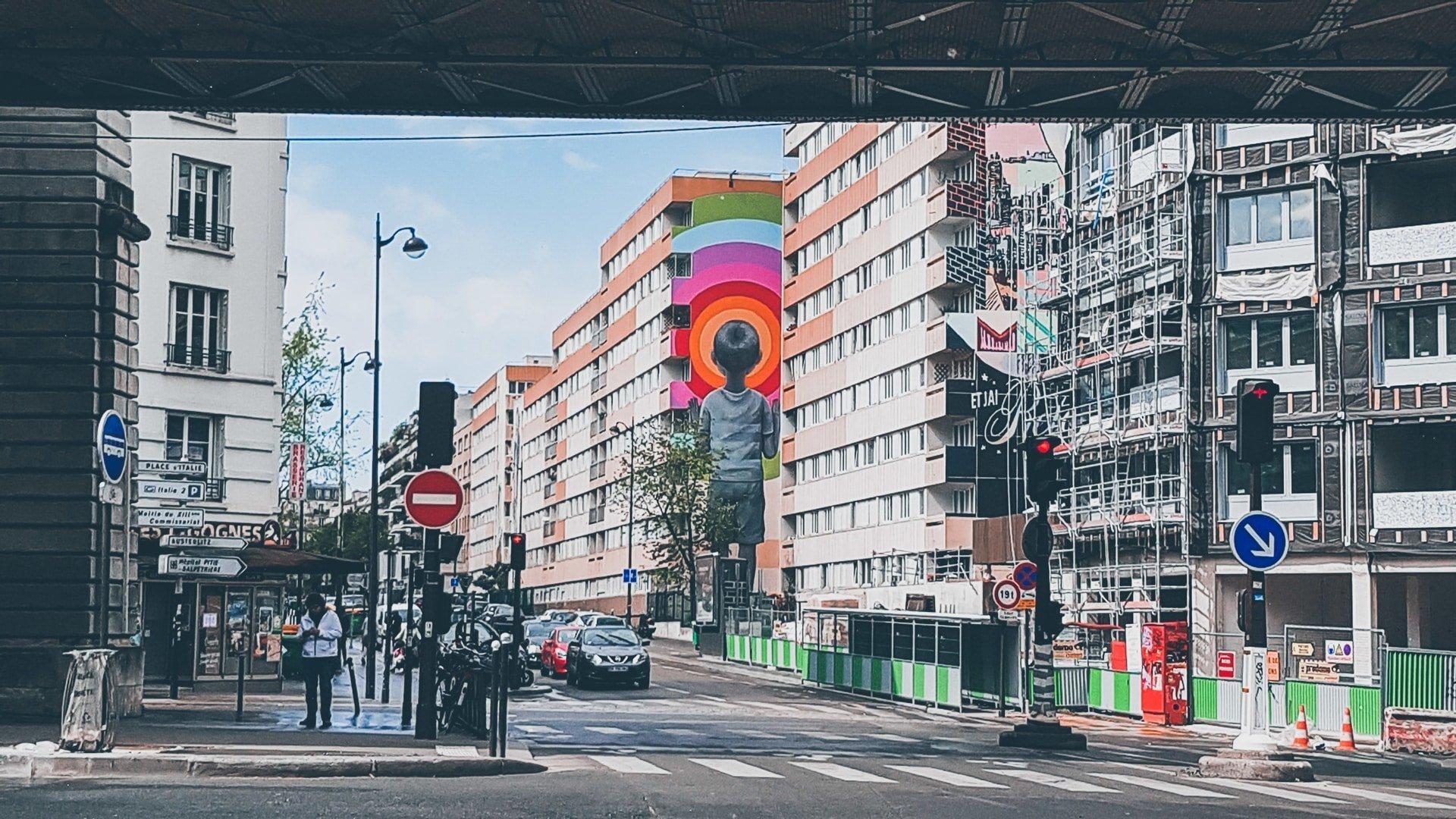 art urbain paris