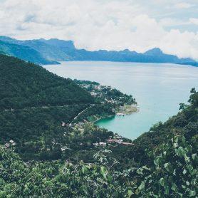 Vue sur le Lac Atitlan - Guatemala