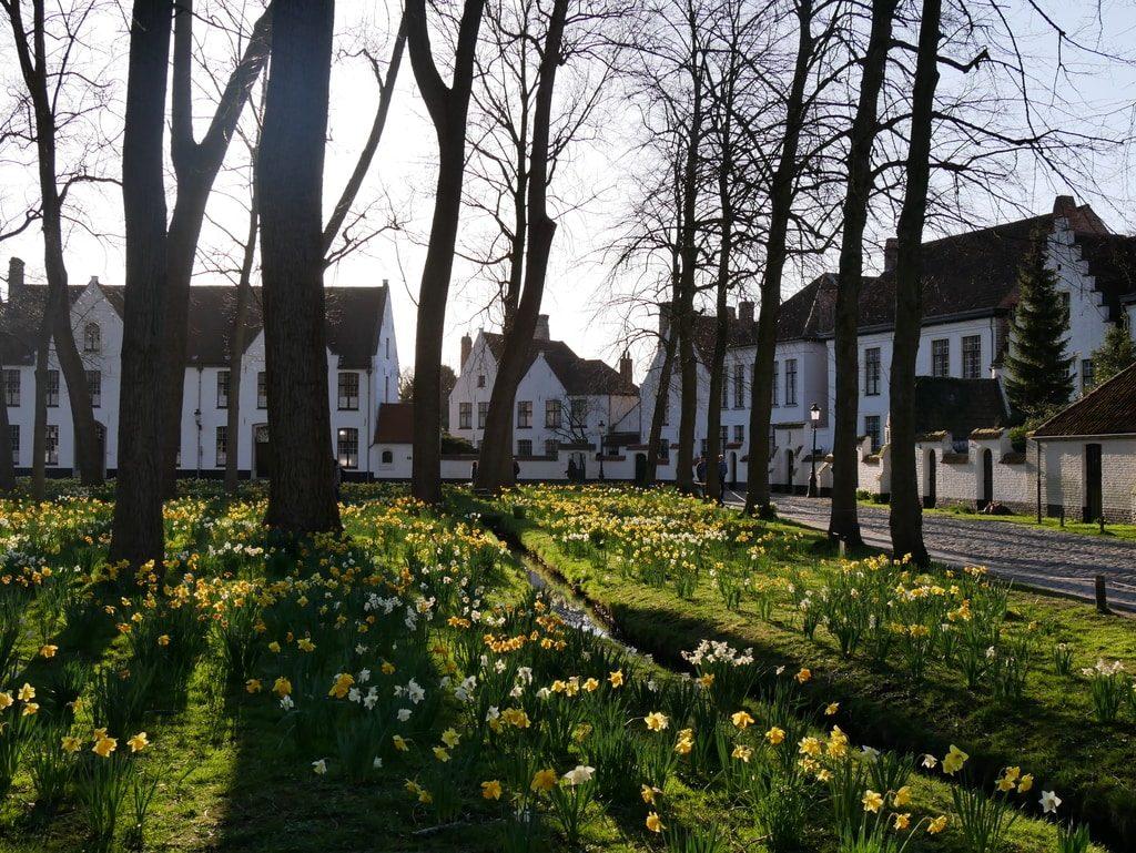 Béguinage de Bruges - Belgique