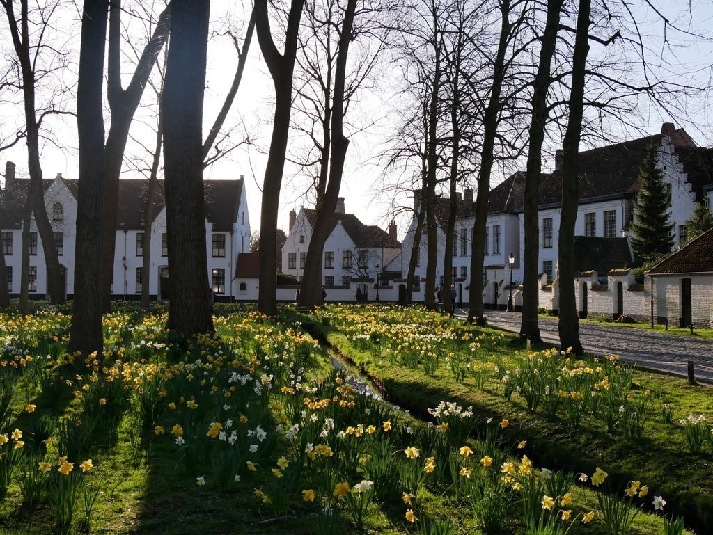Bruges' Princely Beguinage Ten Wijngaerde - Belgium