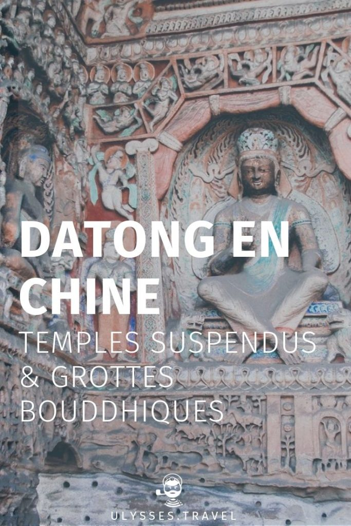 Datong en Chine, grotte bouddhique