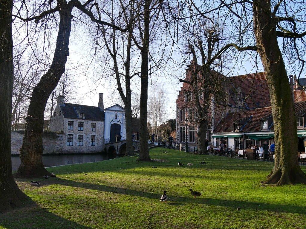 Princely Beguinage Ten Wijngaerde Bruges - Belgium