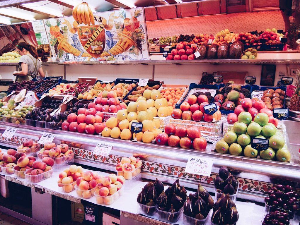Marché central de Valence - fruits & légumes