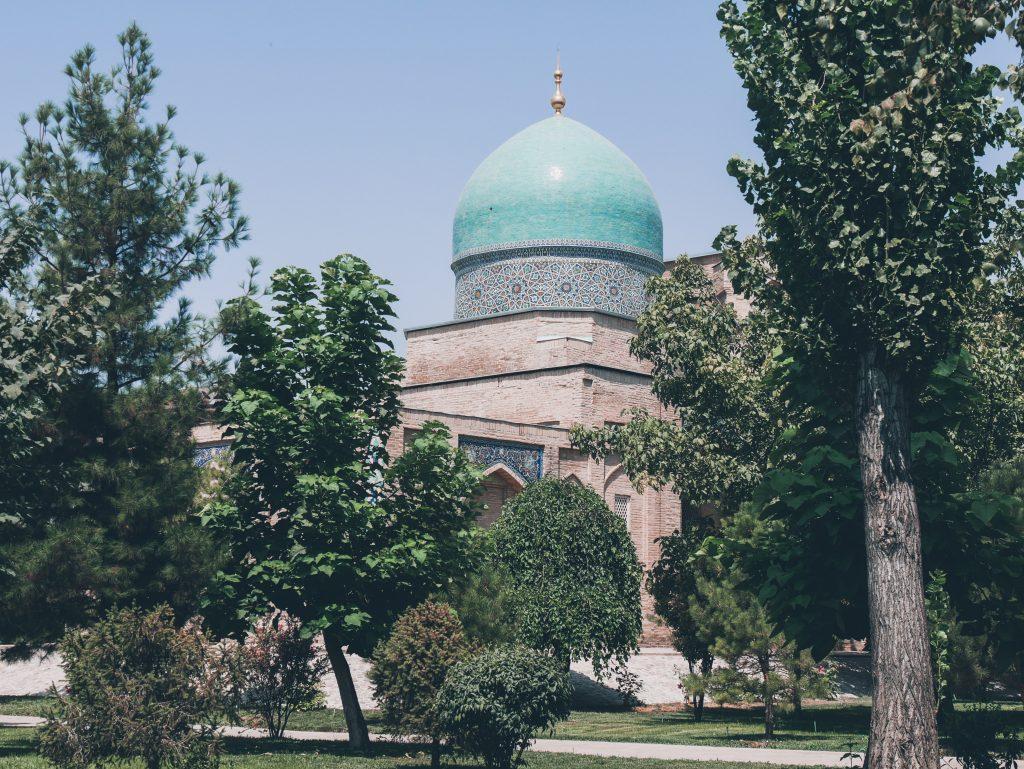 Tachkent-Mausolée-d'Abou-Bakr-Kaffal-Chachi