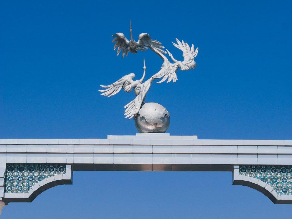 Tachkent - pélicans Mustaqillik Maïdoni