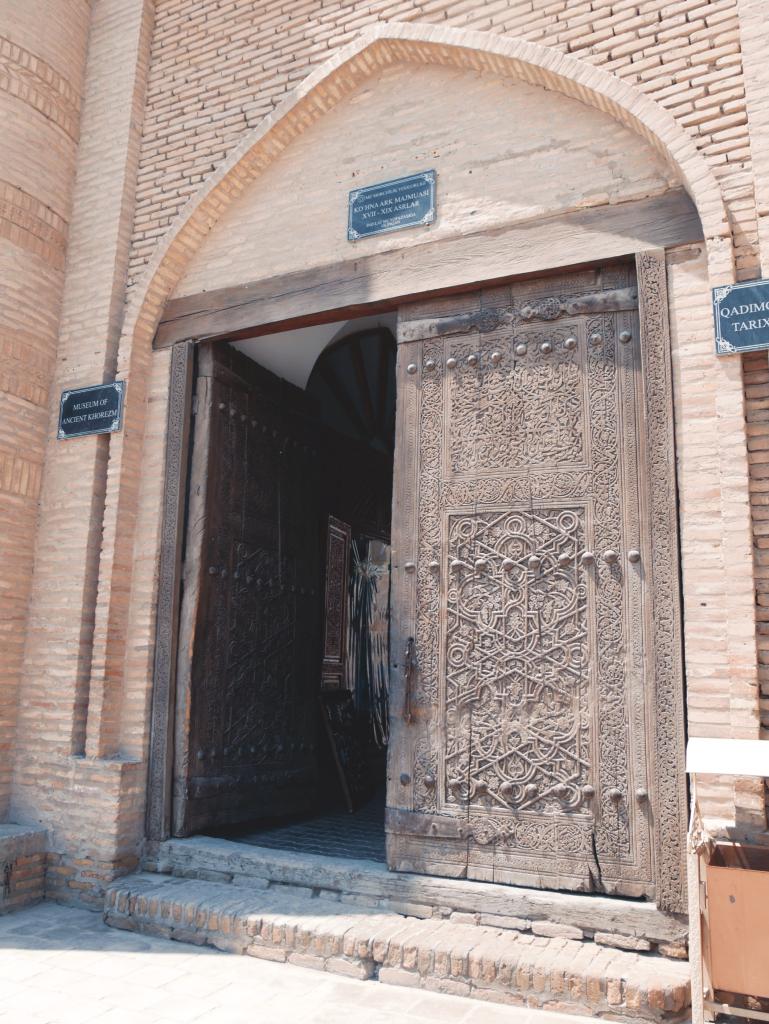 Koukhna Ark - porte - Khiva