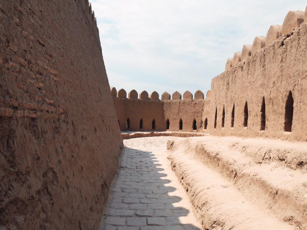 Koukhna Ark - remparts - Khiva