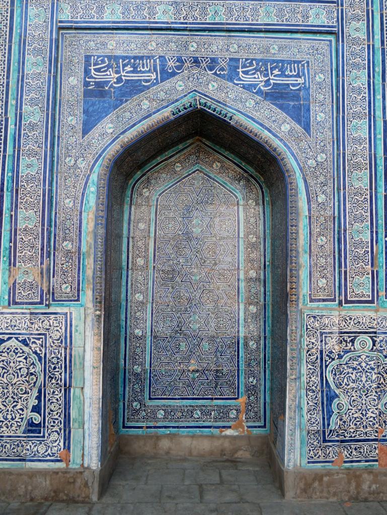 Koukhna Ark - salle du trône - Itchan Qala - Khiva