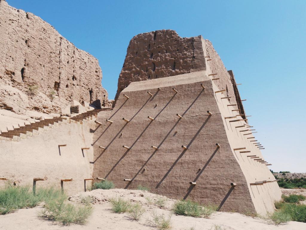 Kyzyl-Qala-Elliq-Qala-Khiva