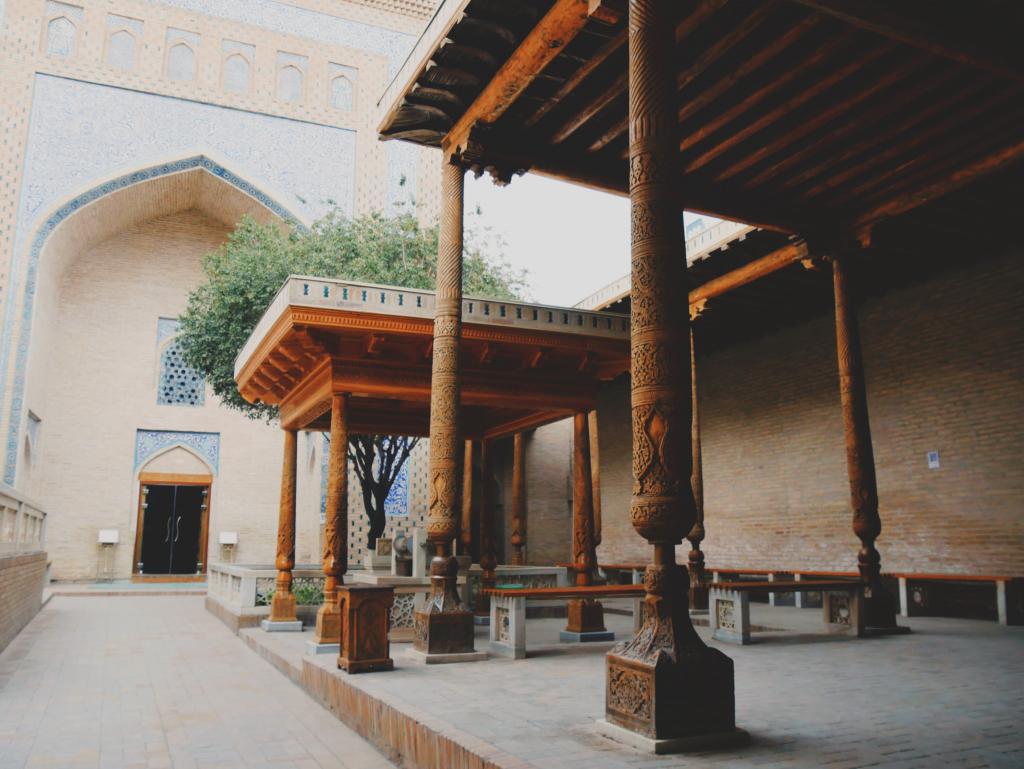 Mausolée-de-Pakhlavan-Mahmoud-cour-Khiva