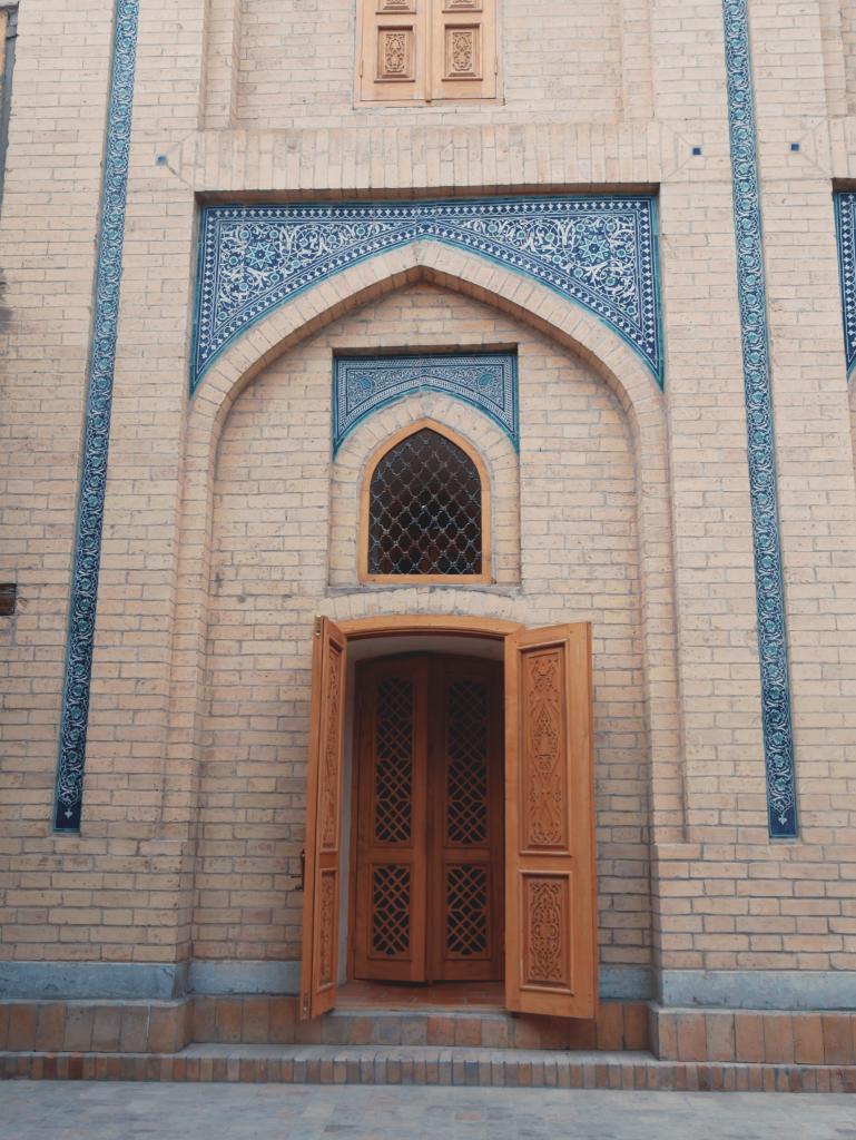 Mausolée de Pakhlavan Mahmoud - porte - Khiva
