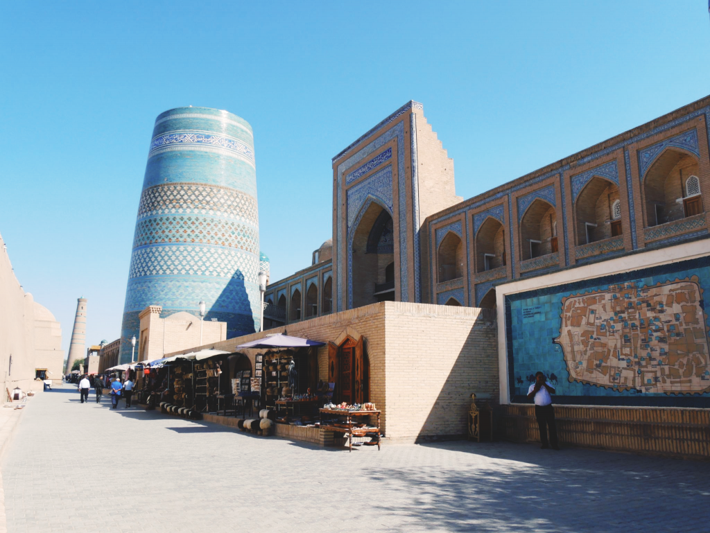 Minaret Kalta Minor - Itchan Qala - Khiva