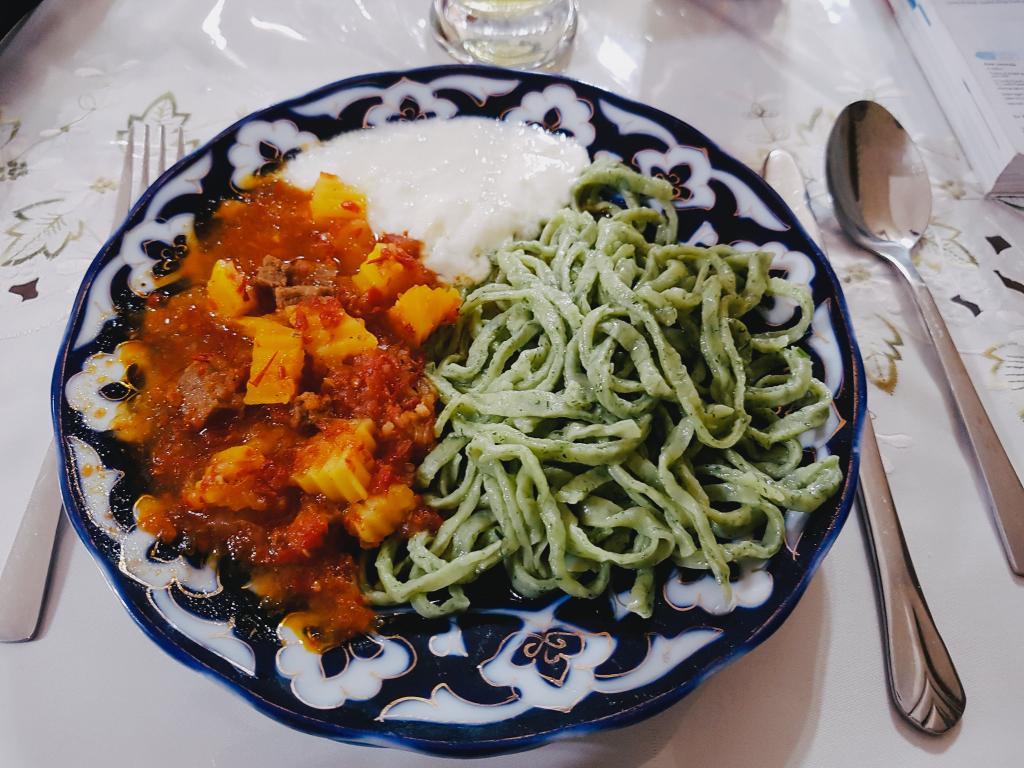 Restaurant Bir Gumbaz - Khiva