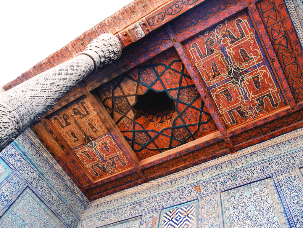 Tach-Khaouli-détail-dun-iwan-Khiva