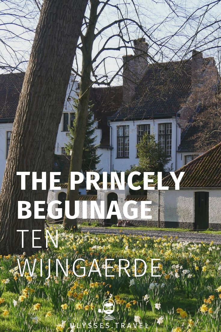 Princely Beguinage Ten Wijngaerde Bruges