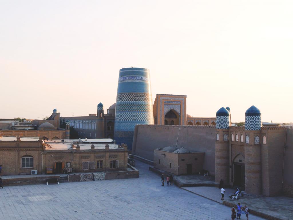 Terrassa Café - vue sur Khiva