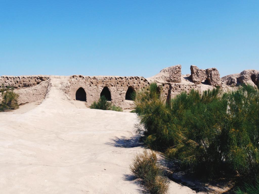 Toprak-Qala-Elliq-Qala-Khiva-ruine