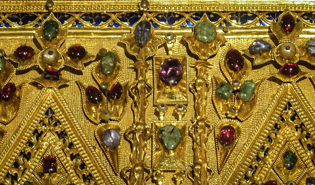 Gemstones on the Pala d'Oro - St. Mark's Basilica