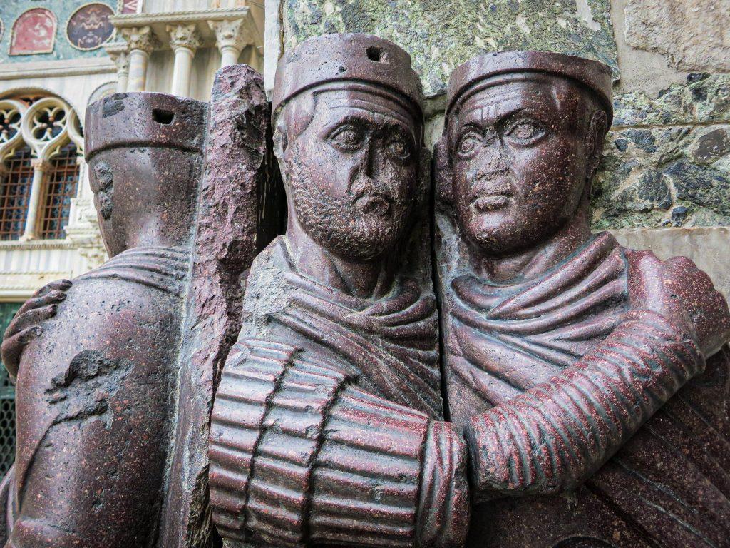 Basilique Saint-Marc Venise - statue des tétrarques