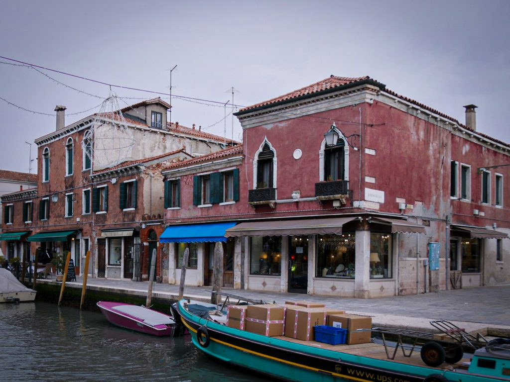 Canal - Murano - Venise