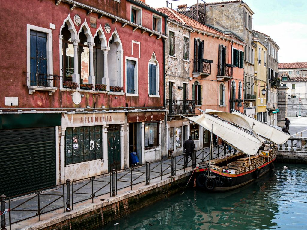 Canal - district of Castello - Venice
