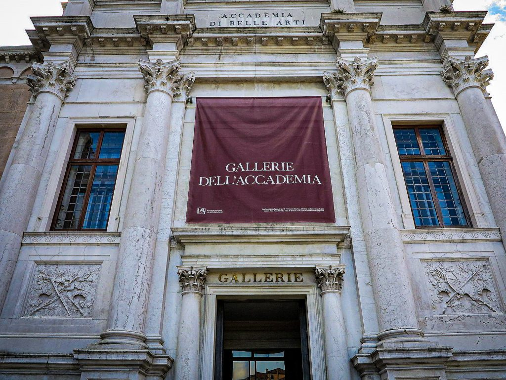 Gallerie dell'Accademia - Venise - façade