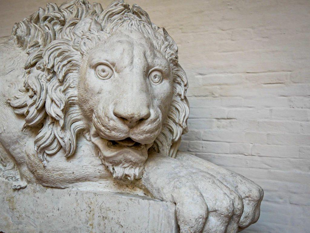 Gallery dell'Accademia - lion statue