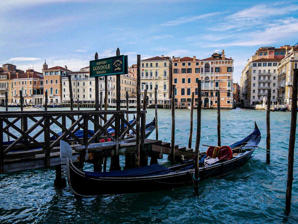 Grand Canal - Venise - Gondoles