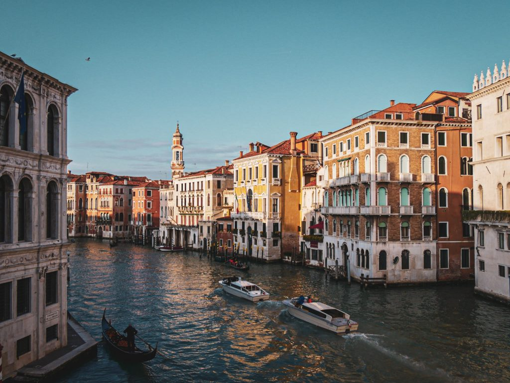 Grand Canal of Venice - from the Rialto