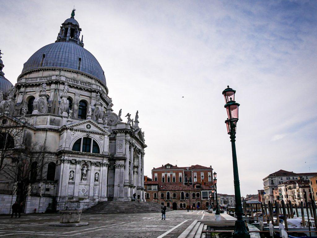 The Basilica of Santa Maria della Salute in Venice
