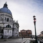 The Basilica of Santa Maria della Salute in Venice