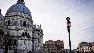 La Basilique Santa Maria della Salute de Venise