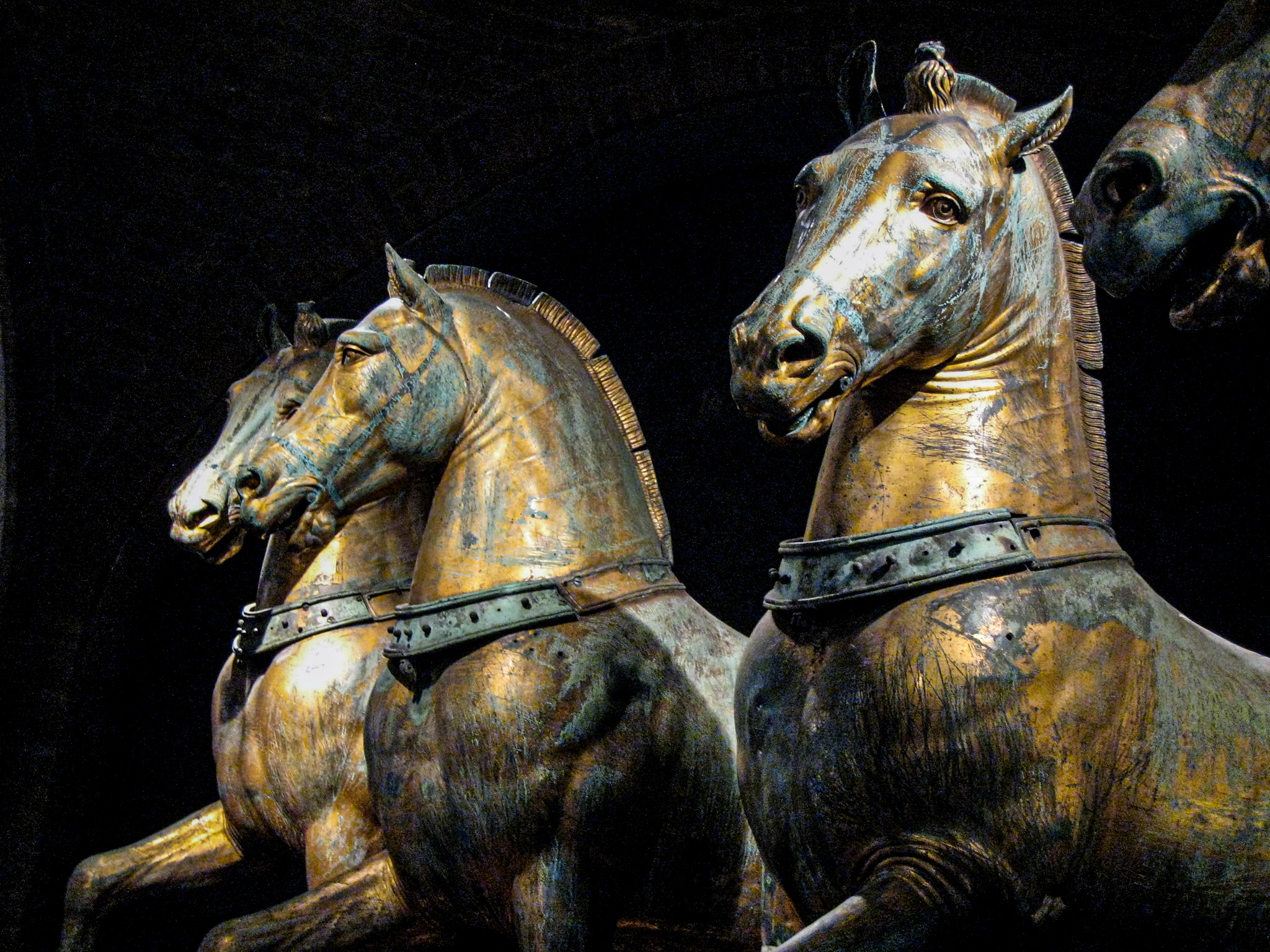 St. Mark's Horses in St. Mark's Museum