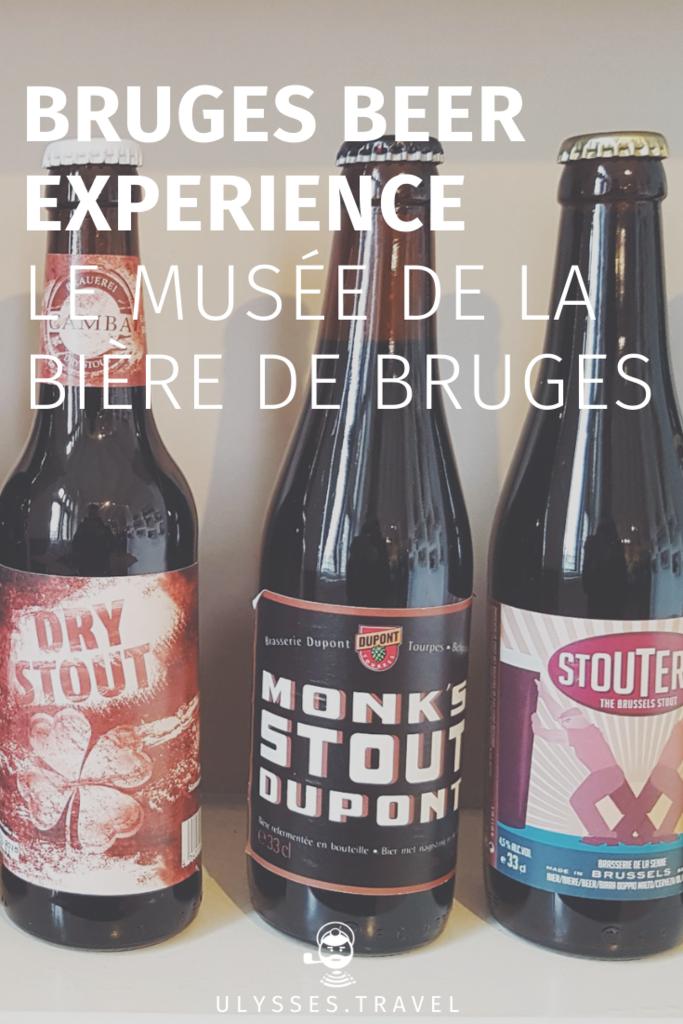 Bruges Beer Experience - Le Musée de la Bière de Bruges
