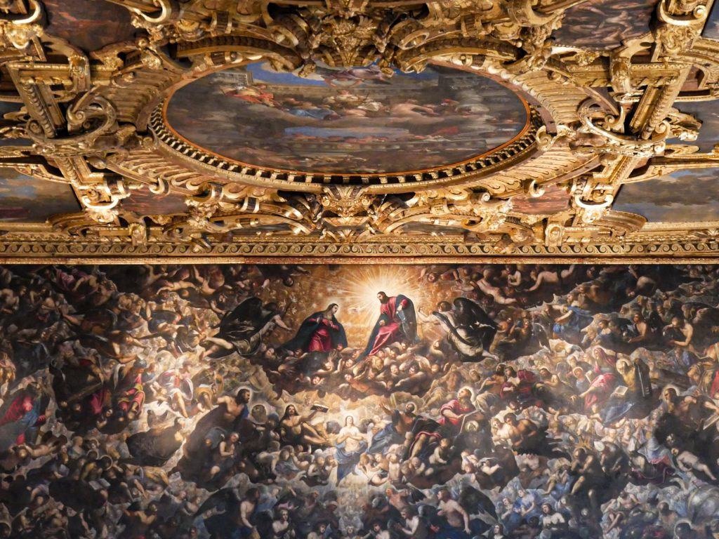 Il Paradisio Tintoretto - Venice Doge's Palace