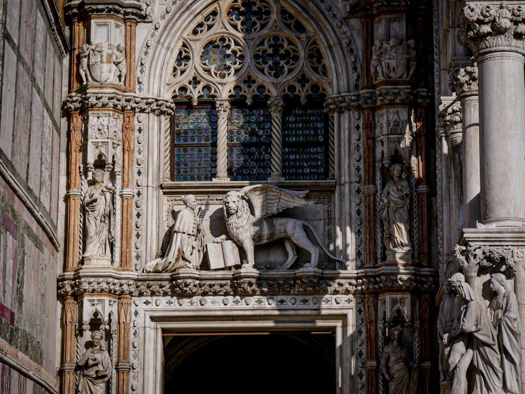 Palais des Doges - Venise - Porta della Carta