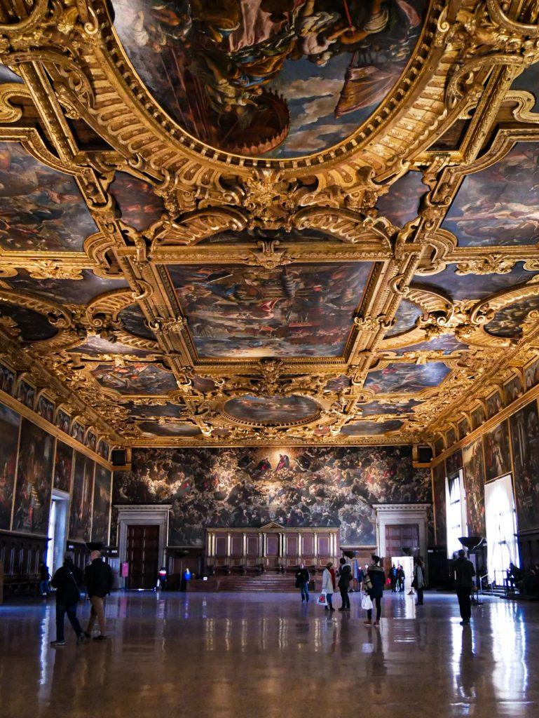 Salle du Grand Conseil - Palais des Doges de Venise