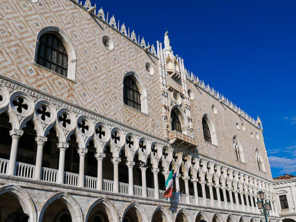 Palais des Doges - Venise - façade extérieure